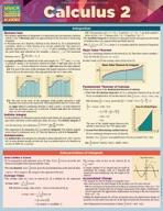 Calculus 2 - QuickStudy Guide