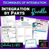 Calculus 2 / AP Calculus BC Integration by Parts Bundle