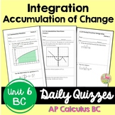 Advanced Techniques of Integration Daily Quizzes (Calculus