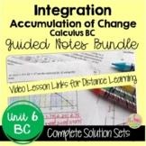Advanced Techniques of Integration Guided Notes (Calculus 2 - Unit 7)