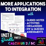 Calculus 2 Applications to Integration Part 3 Bundle of Ac