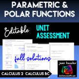 Calculus 2 Calculus BC Polar and Parametric Functions Edit