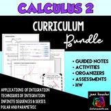 Calculus 2 Curriculum Bundle