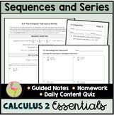 Sequences and Series Unit Essentials (Calculus 2 - Unit 9)