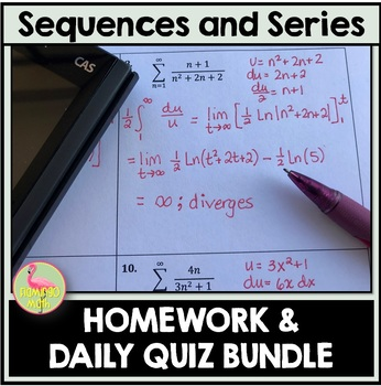 Sequences and Series Homework (Calculus 2 - Unit 9)