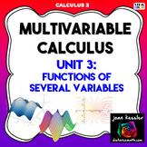 Calculus 3 Multivariable Calculus Unit 3 Exam