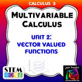 Calculus 3 Multivariable Calculus Unit 2  Exam