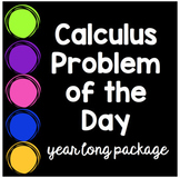 Calculus AB AP Problem of the Day Year Long Bundle