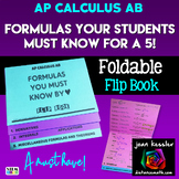 Calculus AB Formulas Your Students Must Know for a 5