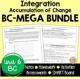 Calculus Integration MEGA Bundle (BC Version - Unit 6)