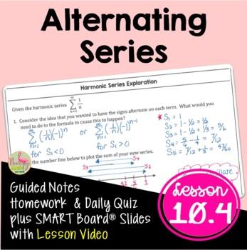 Calculus: Alternating Series