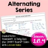 Alternating Series (BC Calculus - Unit 10)