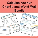 Calculus Anchor Charts and Word Wall Bundle