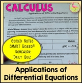 Applications of Differential Equations (Calculus - Unit 5)