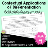 Contextual Applications of Differentiation Assessments (Ca