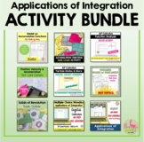 Calculus Applications of Integration Activities (Unit 8)