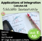 Applications of Integration Assessments (AB - Version Unit 8)