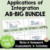 Applications of Integration BIG Bundle with Video Lessons