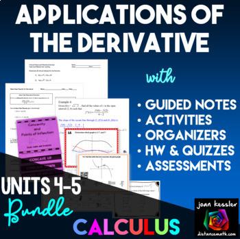 Calculus Applications of the Derivative Bundle