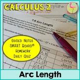 Arc Length (Calculus 2 - Unit 7)