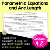 Parametric Equations and Arc Length (BC Calculus - Unit 9)