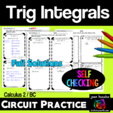 Calculus BC Calculus 2 Techniques of Integration Trig Inte