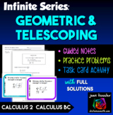 Calculus BC Calculus 2 Infinite Series Geometric and Teles