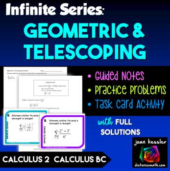 Calculus BC Calculus 2 Infinite Series  Geometric and Tele