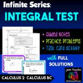 AP Calculus BC  Calculus 2 Infinite Series - The Integral Test