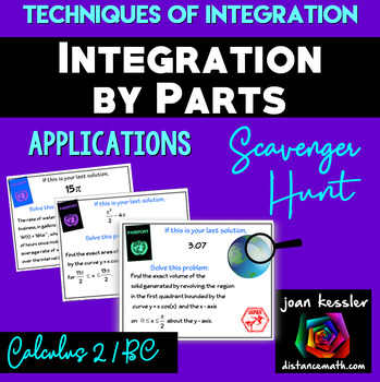 Calculus BC Integration by Parts Applications