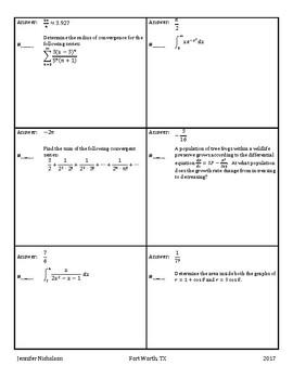 Calculus BC Review Circuit