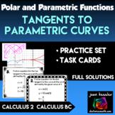 Tangent Lines to Parametrics AP Calculus BC   Calculus 2