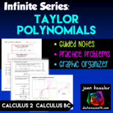 Calculus 2 Taylor and MacLaurin Polynomials -  Infinite Series