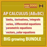 AP Calculus 1&2 (AB&BC) BIG GROWING ACTIVITIES BUNDLE-107