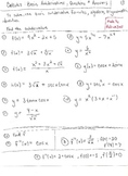Calculus: Basic Antiderivatives , Questions and Solutions