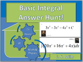 Calculus--Basic Integral Answer Hunt