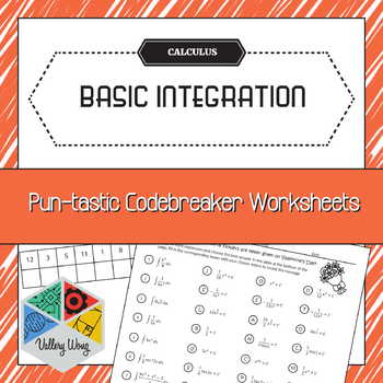 [No-Prep] Calculus: Integration Math Codebreaker