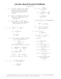 Calculus Board Sessions,Session 10, derivatives,increasing decreasing