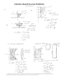 Calculus Board Sessions,Session 16,Evaluate Integrals,area,volume,tangent line