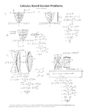 Calculus Board Sessions,Session 18, Integrals,area,volume,integration parts