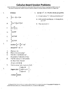 Calculus Board Sessions,Session 19, Integrating even and odd sines