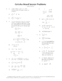 Calculus Board Sessions,Session 2,Functions,Trig,Slope,Line Equations