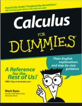Calculus Book for Dummies Project