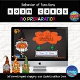 Halloween Calculus Boom Cards - Behavior of Functions