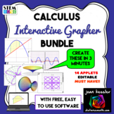 Calculus Bundle of Interactive Graphing Apps plus software