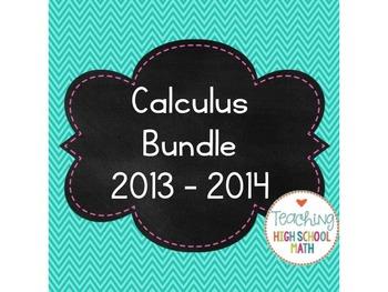 Calculus Bundle 2013 (limits, derivatives, integrals)