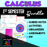 Calculus Bundle of Activities for First Semester