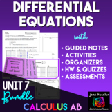 Calculus Bundle of Differential Equations