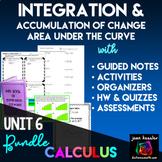 Calculus Integration Bundle of Activities