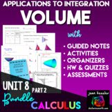 Calculus Bundle of Volume of Revolution Activities for AP